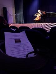 Cello on stage