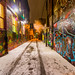 The Alley @ Night by A Great Capture