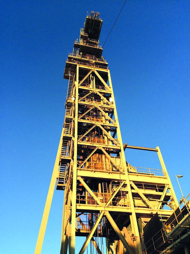 Подъемная машина шахты Northparkes