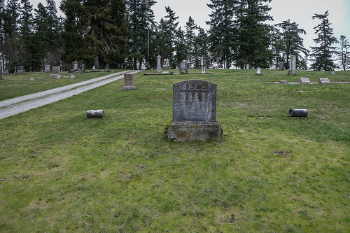 George Washington Lafayette Allen grave