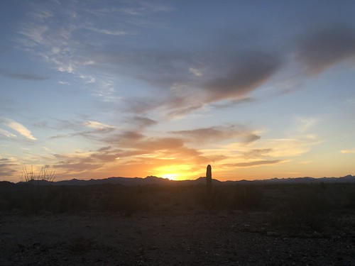 Quartzsite - Yet another sunset
