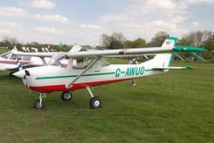 G-AWUO Reimes-Cessna F.150H [0380] Popham 020509