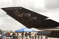 80-0788 - A.4013 - US Air Force - Lockheed F-117A Nighthawk - RIAT 2007 Fairford - 070714 - Steven Gray - IMG_6068
