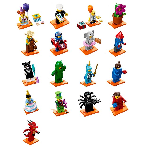 LEGO Minifigures 71021 Seria 18