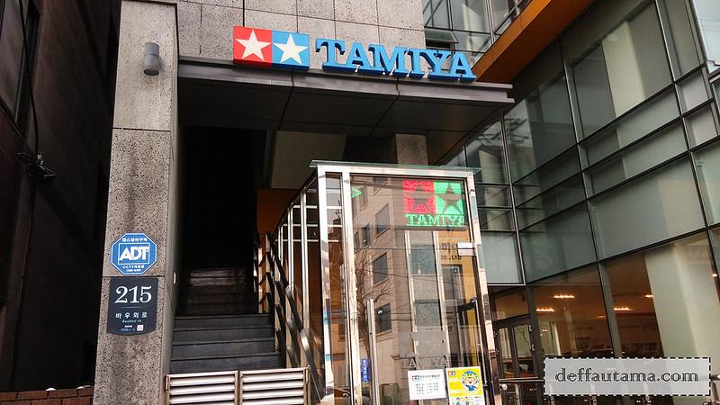 5 hari di Seoul - Tamiya Plamodel Factory Seoul 1