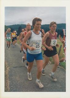 Elisabeth und Gisela auf der Strecke