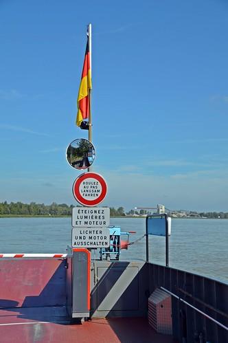 Impression auf der Rheinfähre