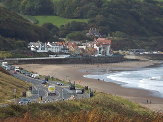 The road down to Sandsend