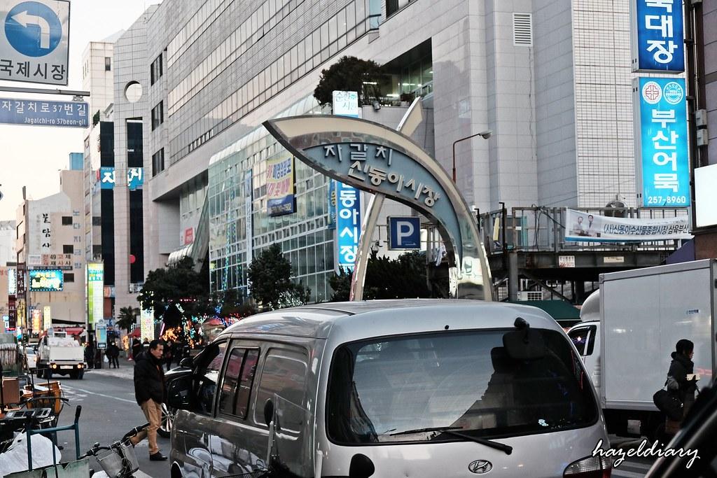 Busan-Jalgachi Market Signage