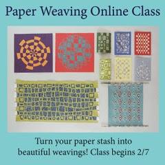 Paper Weaving Online Class