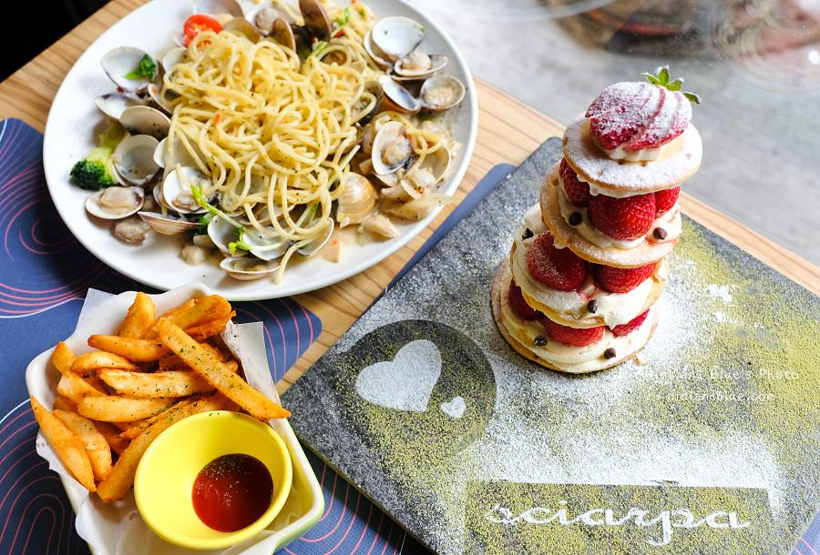 夏帕義大利麵-台中店.草莓塔0008
