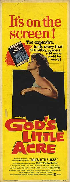 God`s Little Acre - Poster 1