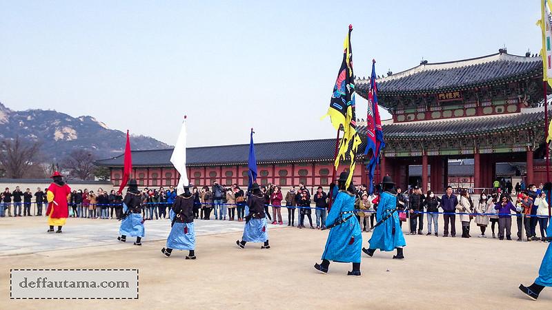 5 hari di Seoul - Guard Changing Ceremony 1