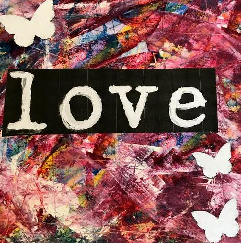 Donna Dowless: The Heart Artist Shares the Love