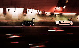 Target Center, Minneapolis 10/13/07 #night #cars #motion #limo