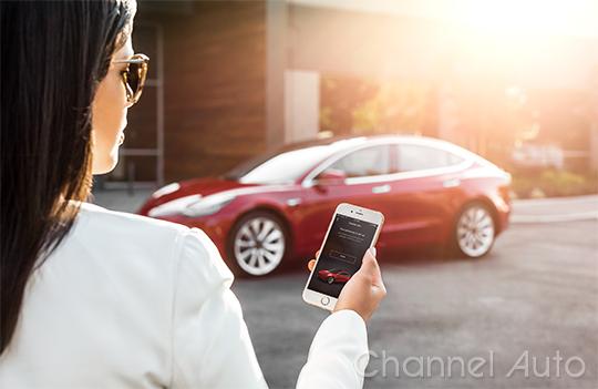 Model 3 - My Tesla Phone App as Key
