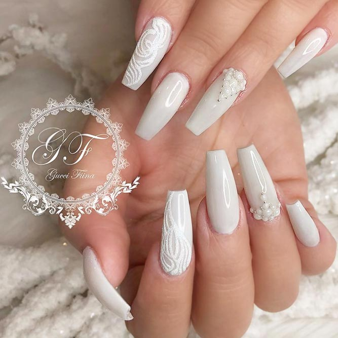Trendy Nail Art Ideas With Color 2018 - Nails C
