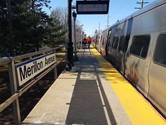 Arriving at Merillon Station