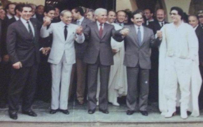 زعماء الاتحاد المغرب العربي