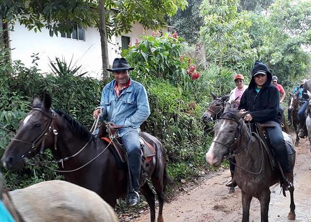 Cavalgada do Povoado do Rio do Silvano