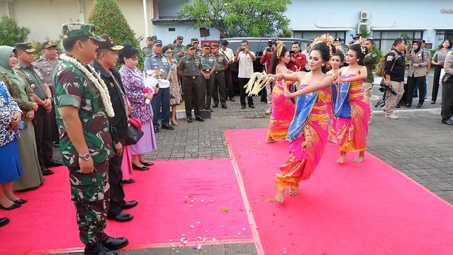 Penyambutan Panglima TNI