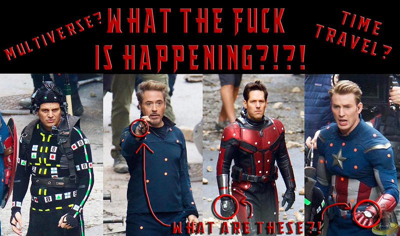 Avengers 4 Set Photos Leak: WHAT IS HAPPENING?!?! (+THEORY)