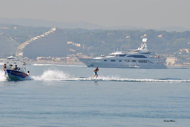 ski à la mer, Nikon D90, Sigma 50-500mm F4-6.3 EX APO RF HSM
