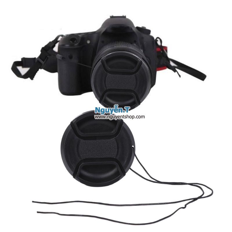 Lens cap nắp đậy bảo vệ ống kính máy ảnh phi 77mm