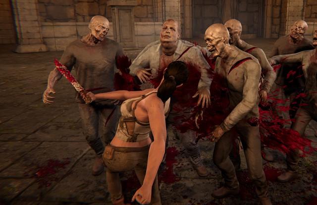 Blood Waves - Loyer insuffisant Lara Croft