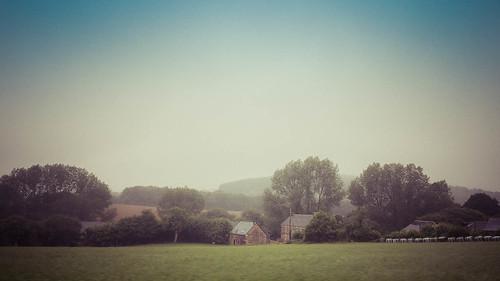 Regen in der Bretagne