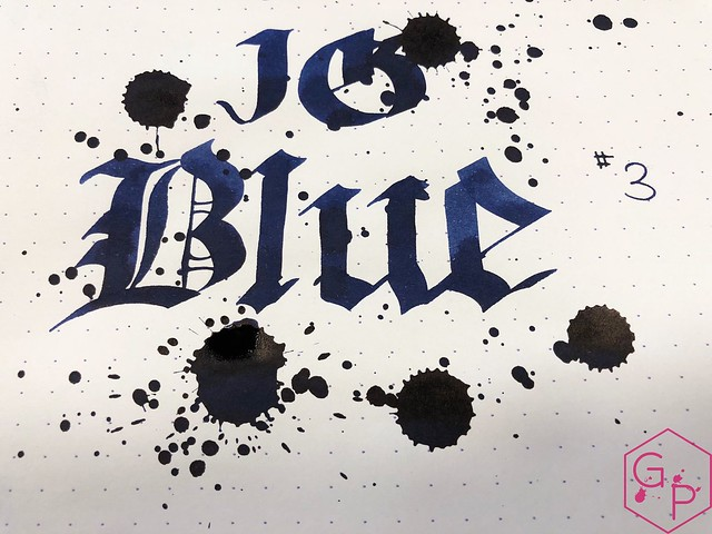 Ink Shot Review KWZ Ink IG Blue #3 @BureauDirect 8