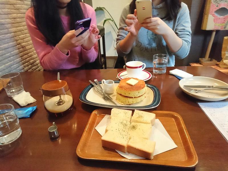 厚焼きホットケーキ グアドゥアカフェ @guadua coffee, 2017.03.21
