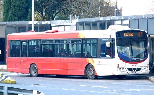 YN06 NXY 'rosso' No. 229. Scania L94UB / Wright Solar on 'Dennis Basford's railsroadsrunways.blogspot.co.uk'