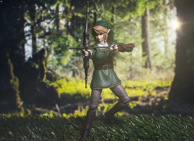 The Legend of Zelda: Link Aims for his Next Target