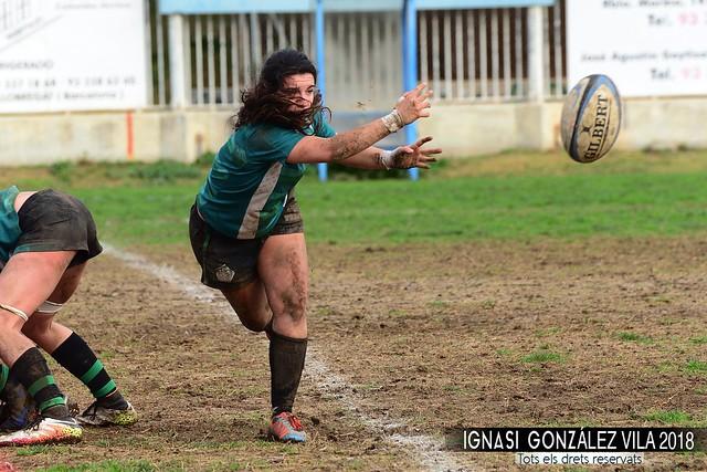 8ª Jornada Lliga Iberdrola Rugby INEF L'Hospitalet vs Olímpico Pozuelo 2017-2018