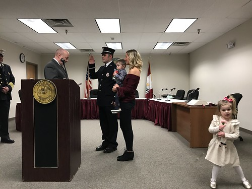 02-13-18 Troy Fire Department Promotion Ceremony