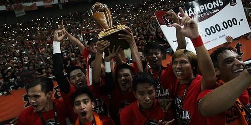 Keceriaan Persija Setelah Berhasil Menjadi Juara Piala Presiden 2018