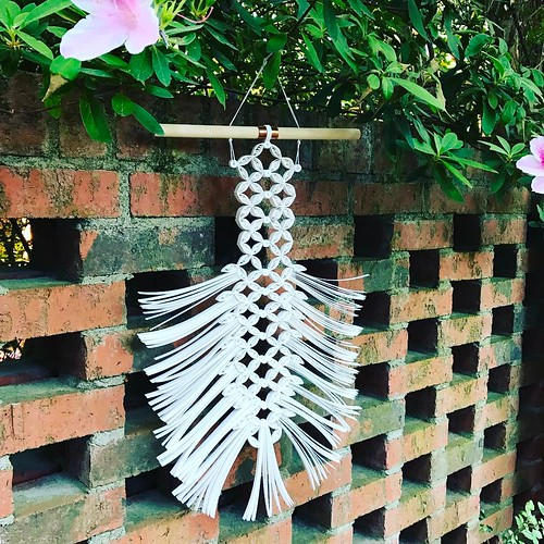 Paper Macrame Wall Hanging by Griffin Carrick