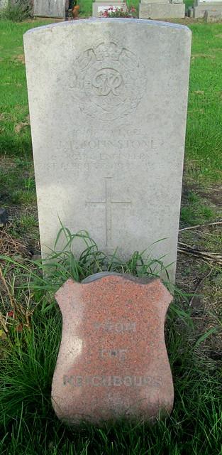 War Grave, Leslie Cemtery
