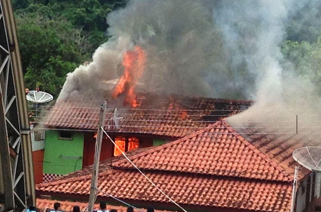 Fogo em Óbidos