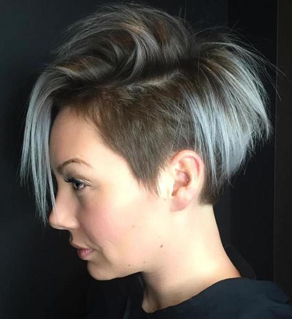 Undercut Short Pixie Hairstyles Undercut Hairstyles 2018
