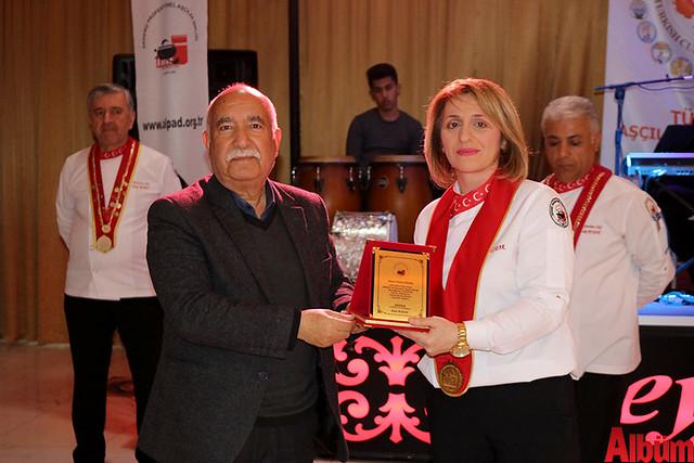 Akdeniz Profesyonel Aşçılar Birliği plaket töreni -2