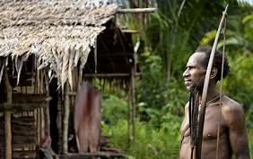 Papua Yeni Gine bowhunting