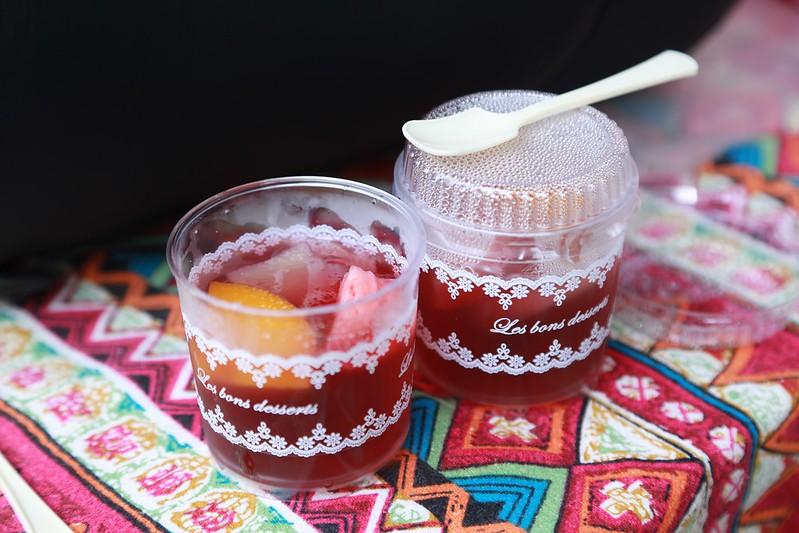 阿樹和芳芳請大家吃的果凍
