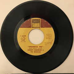 SMOKEY ROBINSON & THE MIRACLES:THE TEARS OF A CROWN(RECORD SIDE-B)