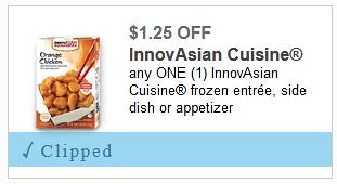 New Innovasian Frozen Food Coupons As Low As 219 At Meijer