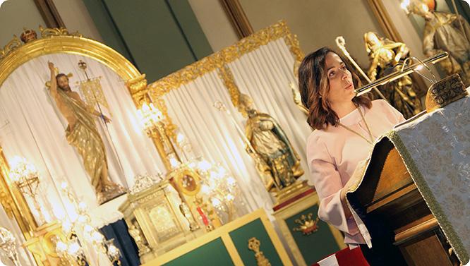 El Resucitado inicia el triduo a su titular con el III Pregón de Juventud