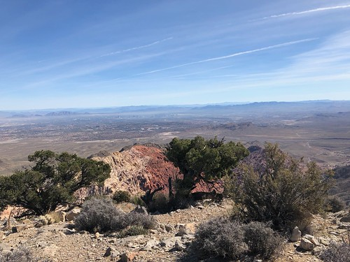 Las Vegas - View of Las Vegas from Turtlehead peak