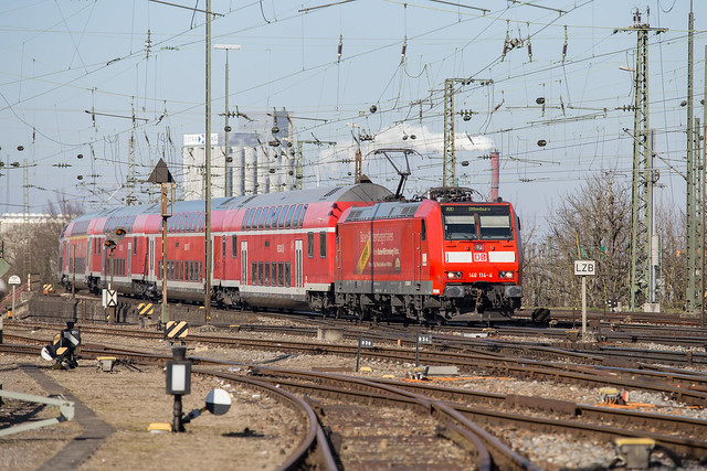 DB Regio at Basel Bad