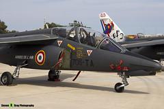 E42 705-TA - E42 - French Air Force - Dassault-Dornier Alpha Jet E - Luqa Malta 2017 - 170923 - Steven Gray - IMG_0658